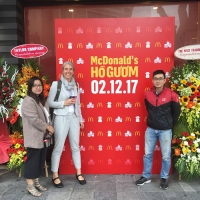 TFR starts fresh produce delivery for first McDonalds restaurant in Hanoi
