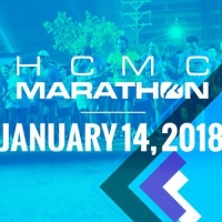 TFR team runs HCMC Marathon 2018